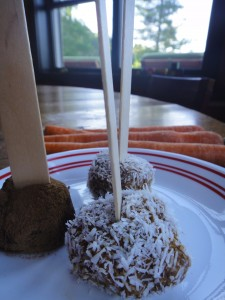 Healthy Carrot Cake Pops from Healthy Mama Info