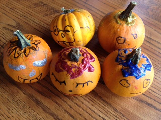 Pumpkin Decorations For Little Kids