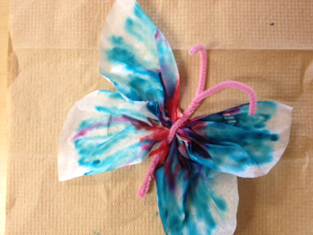 Butterfly Coffee Filter Craft Healthy Mama Info