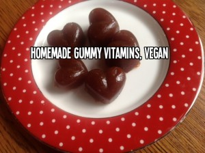 Homemade Gummy Vitamins, Vegan