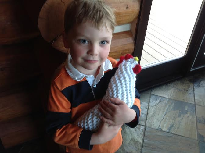 Easy Knit Chicken Free Pattern Healthy Mama Info