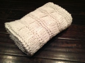 Diy Chunky Knit Blanket Easy