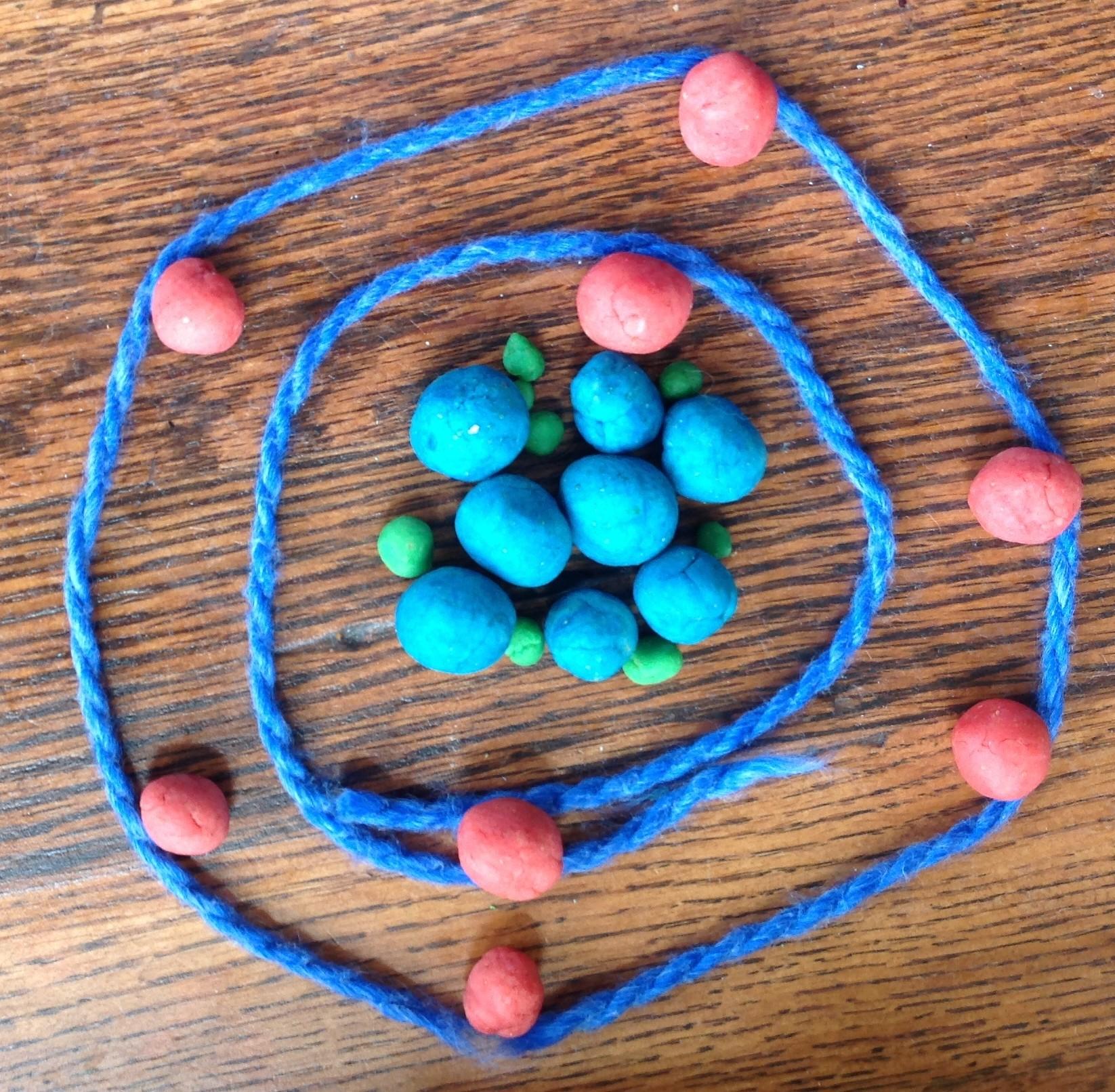 Oxygen Atoms Scientist Atom Diagram Montessori Muddle Play Dough Model Of An Healthy Mama Info 1646x1612