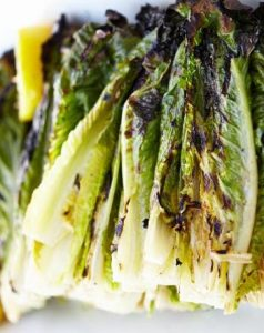Grilled Romaine Lettuce in the Oven Recipe